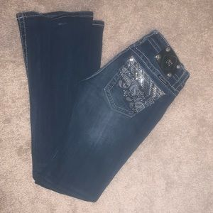 Miss Me boot cut Jeans size 26